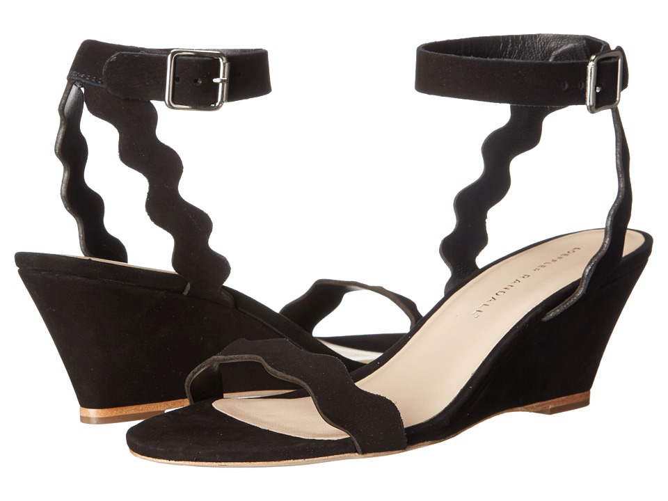 Loeffler Randall Minnie (Black Nubuck) Women