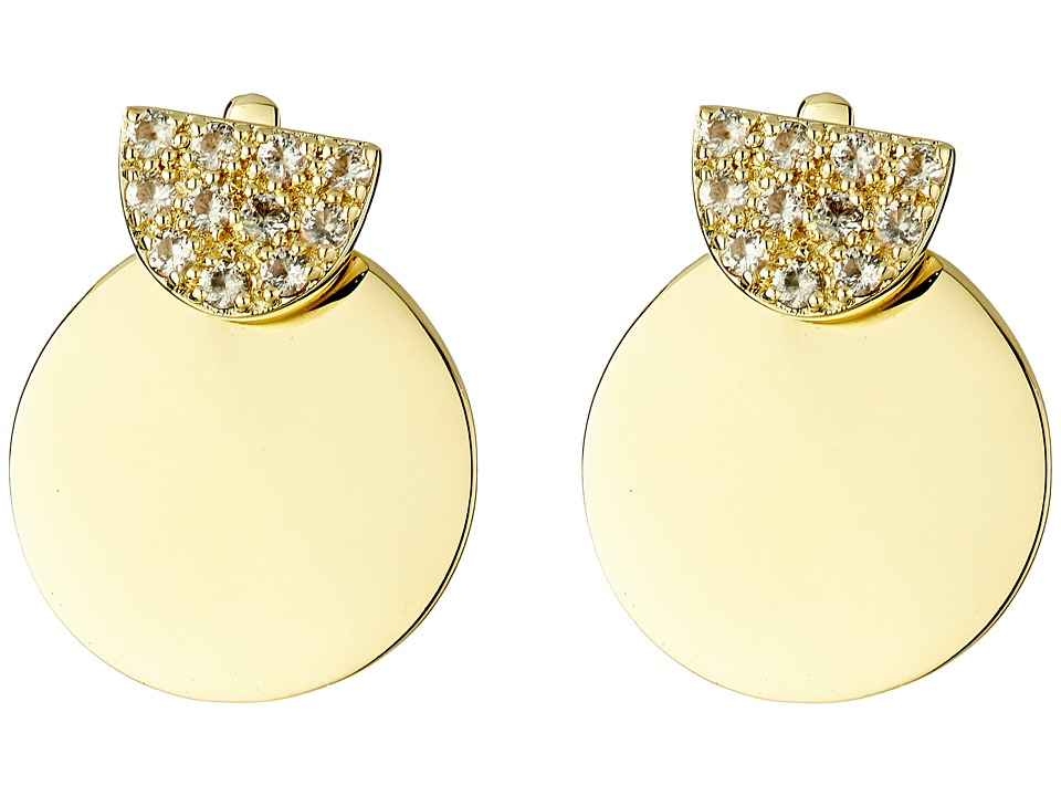Elizabeth and James - Sabi Ear Jackets Earrings (Yellow Gold) Earring