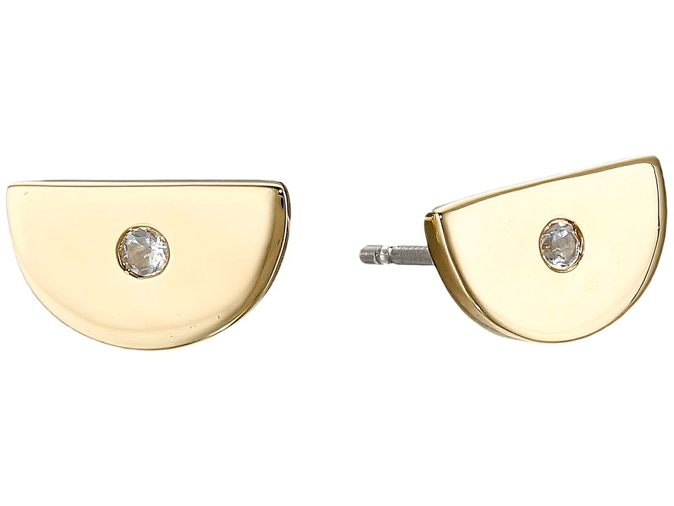 Elizabeth and James - Ita Stud Earrings (Yellow Gold) Earring