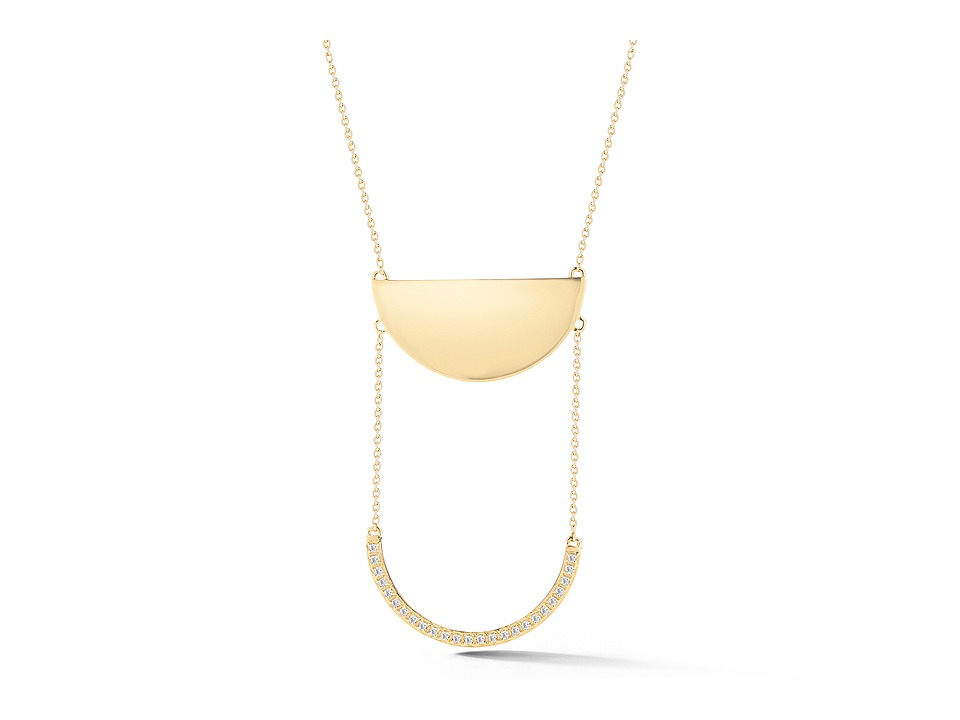 Elizabeth and James - Calder Necklace - 28 (Yellow Gold) Necklace