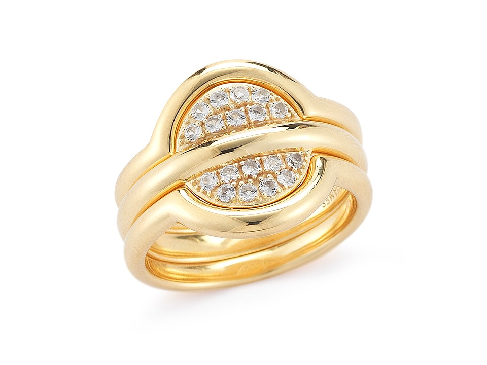 Elizabeth and James - Sabi Ring Trio Set (Yellow Gold) Ring