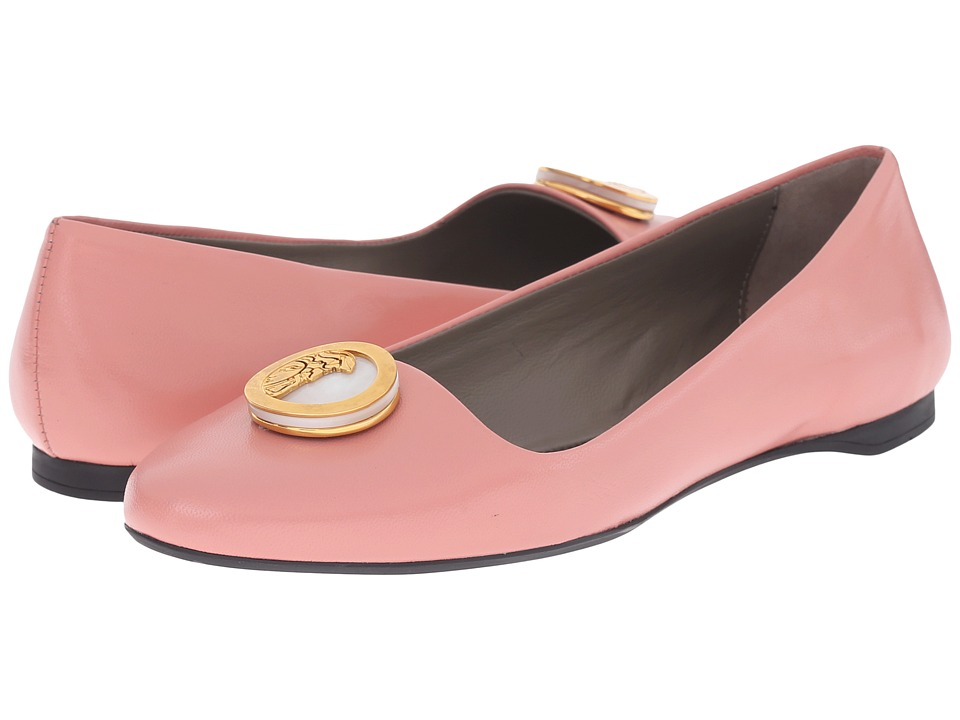 Versace Collection - Oro Bizantino Flat (Rosa) Women's Flat Shoes