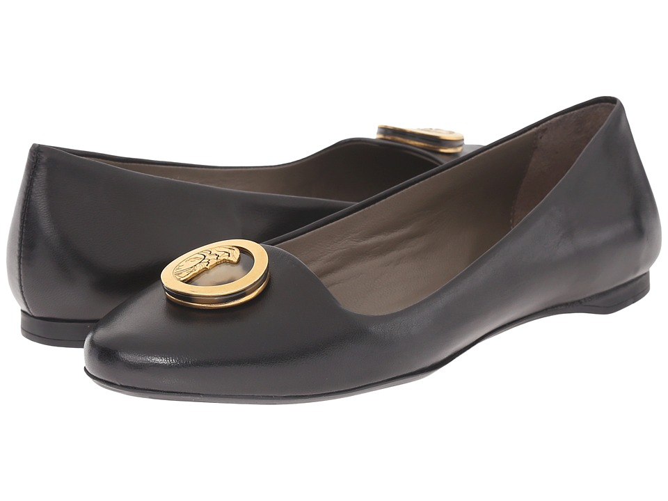 Versace Collection - Oro Bizantino Flat (Nero) Women