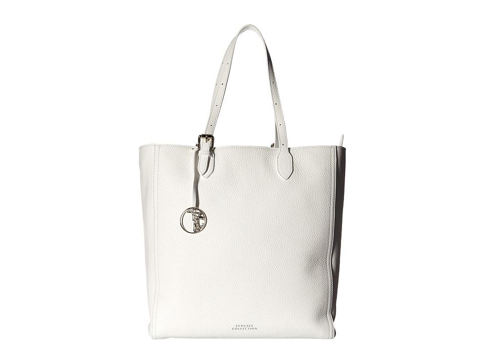 Versace Collection - Oro Chiaro Tote (Bianco) Tote Handbags
