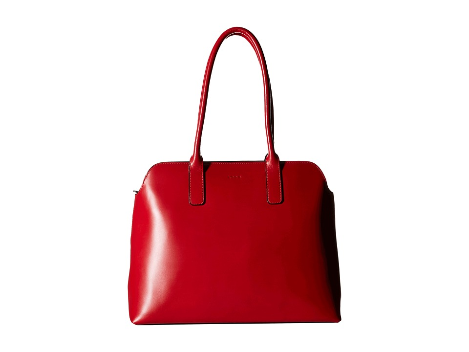 Lodis Accessories - Audrey Ivana Work Tote (Red/Black) Satchel Handbags