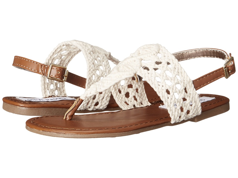 Steve Madden Kids - Jparadse (Little Kid/Big Kid) (Natural Crochet) Girls Shoes