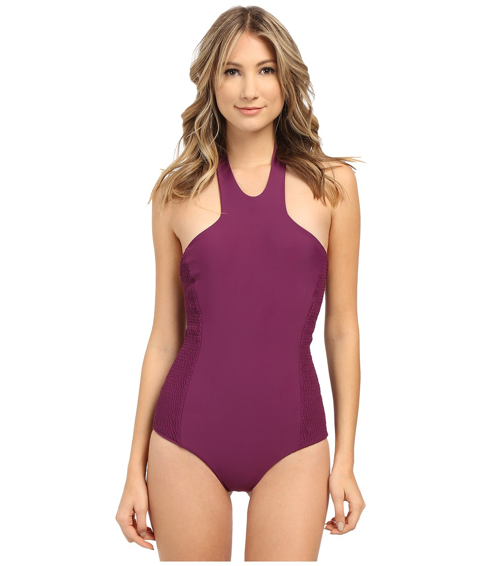 Tori Praver - Rosarito Full Coverage (Sangria) Women's Swimsuits One Piece