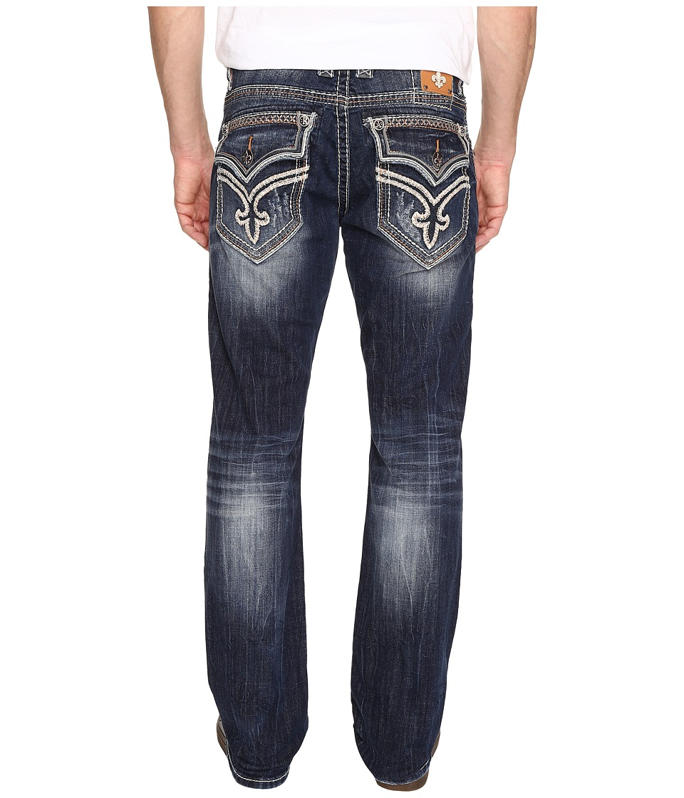 Rock Revival - Casey J8 in Medium Blue (Medium Blue) Men's Jeans