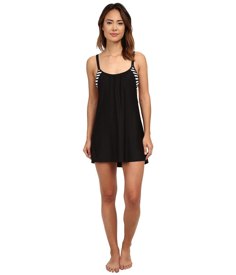 Next by Athena - Barre To Beach Soft Cup Dress (Black) Women's Swimwear