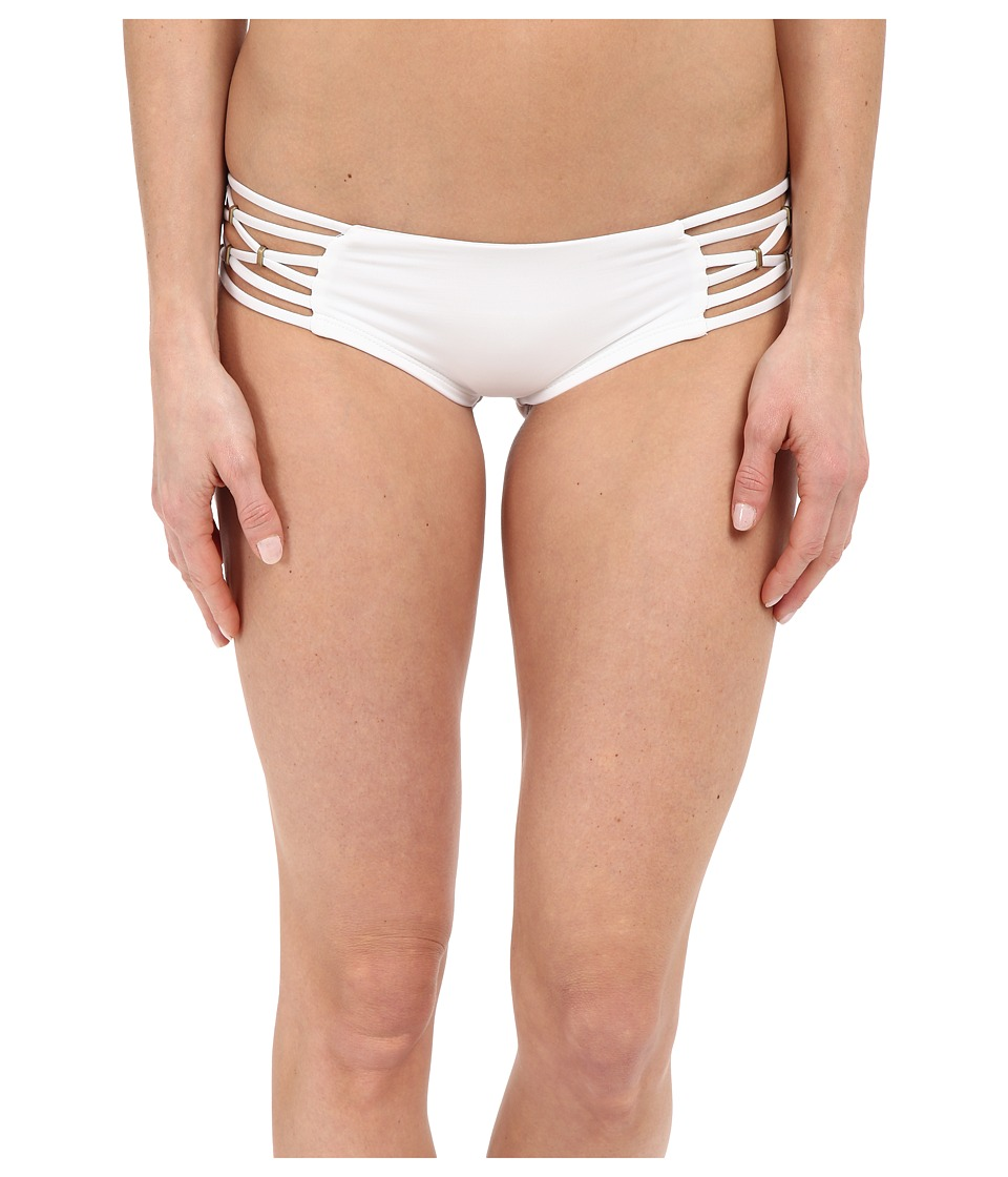Vitamin A Swimwear - Amber Boyshorts (Eco White) Women's Swimwear