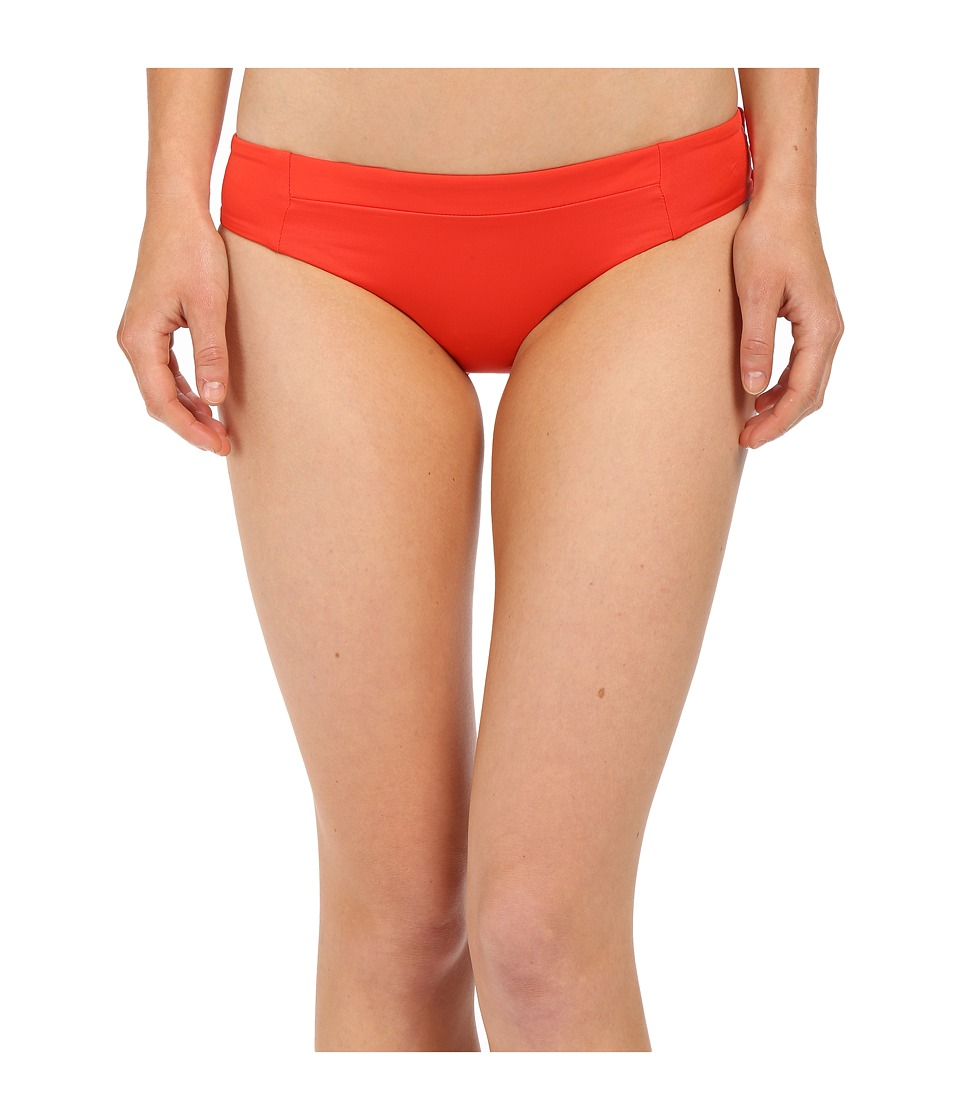 Vitamin A Swimwear Adriana Hipster Bikini Bottom (Vermillion) Women