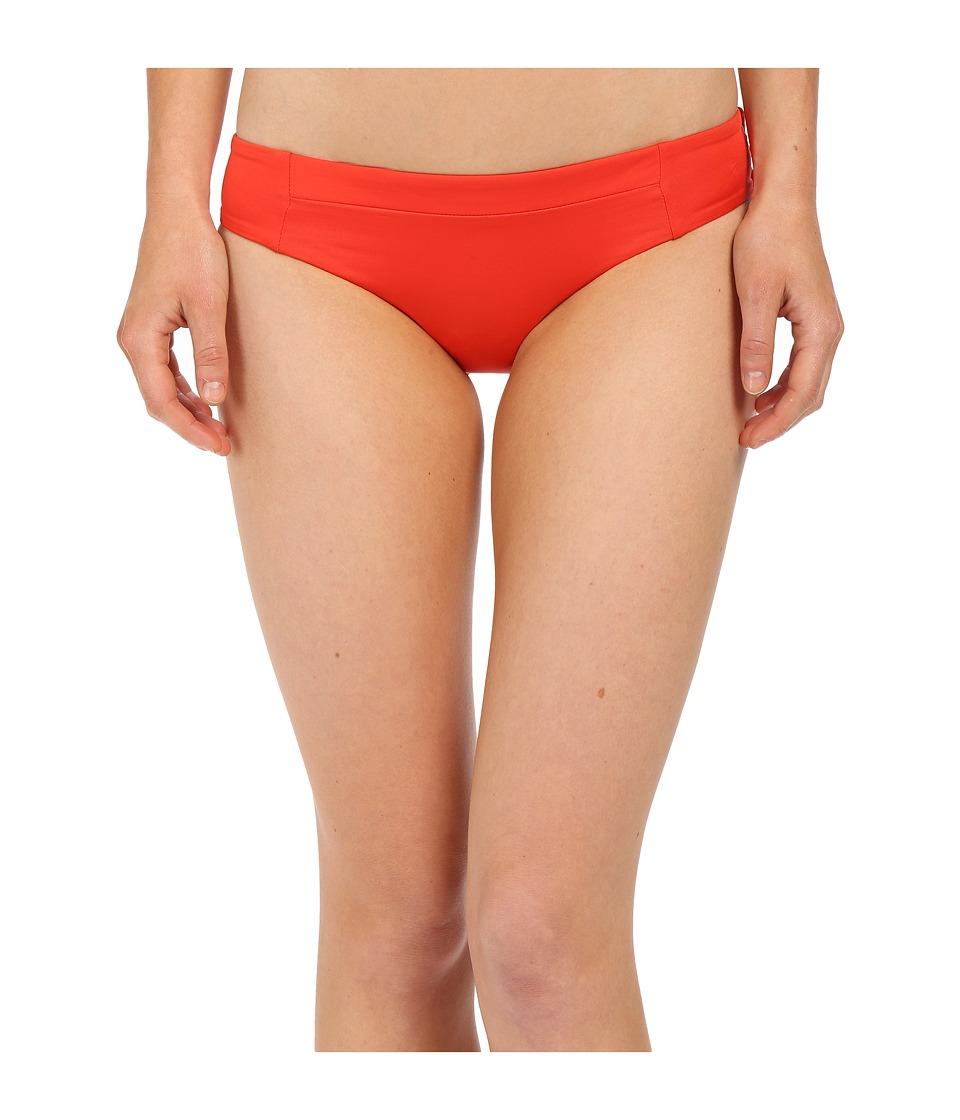 Vitamin A Swimwear - Adriana Hipster (Vermillion) Women's Swimwear