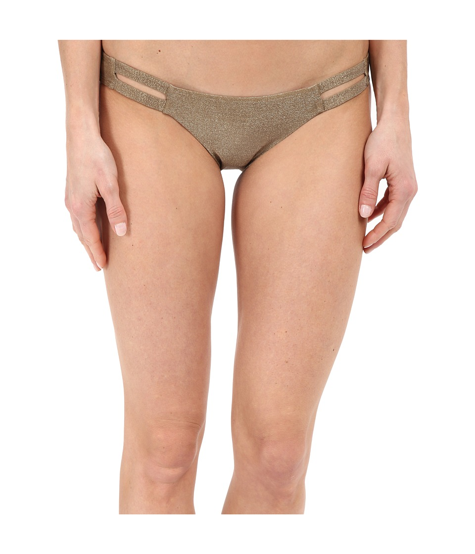 Vitamin A Swimwear - Neutra Hipster (Bronze Metallic) Women's Swimwear