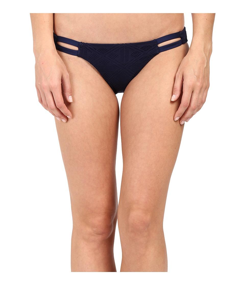 Vitamin A Swimwear - Neutra Hipster Full (Esperanza Mesh Navy) Women's Swimwear