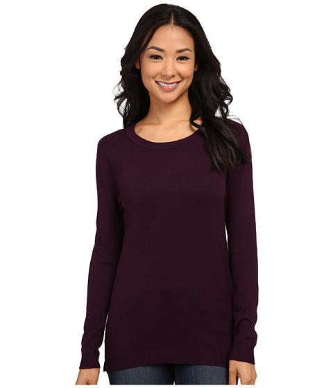 525 america - Crew Neck Sweater (Plum Wine) Women