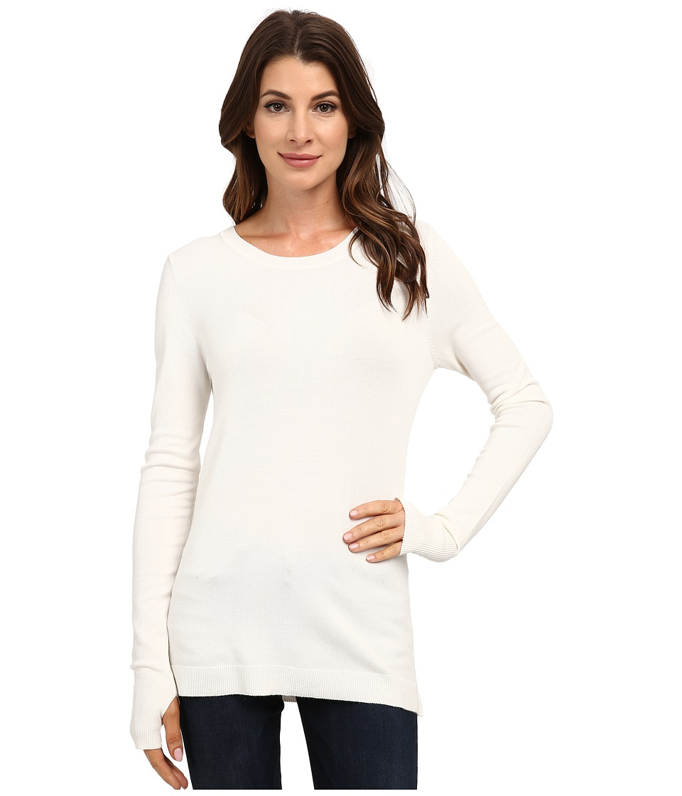 525 america - Crew Neck w/ Thumbhole (White Cap) Women's Clothing