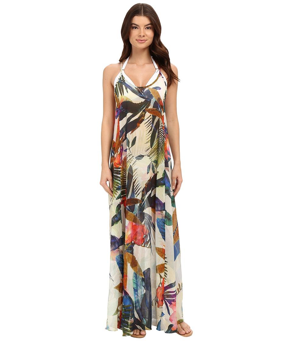 Vitamin A Swimwear - Flute Long Dress Cover-Up (Maya Woven) Women's Swimwear