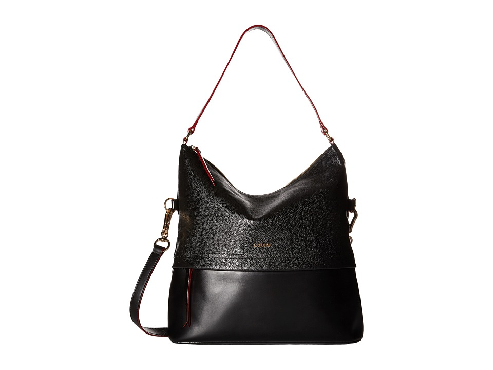 Lodis Accessories - Kate Sunny Hobo (Black) Hobo Handbags