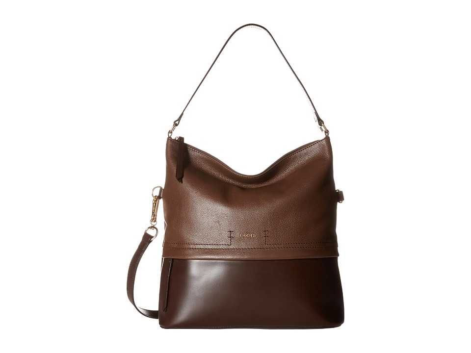 Lodis Accessories - Kate Sunny Hobo (Chocolate) Hobo Handbags