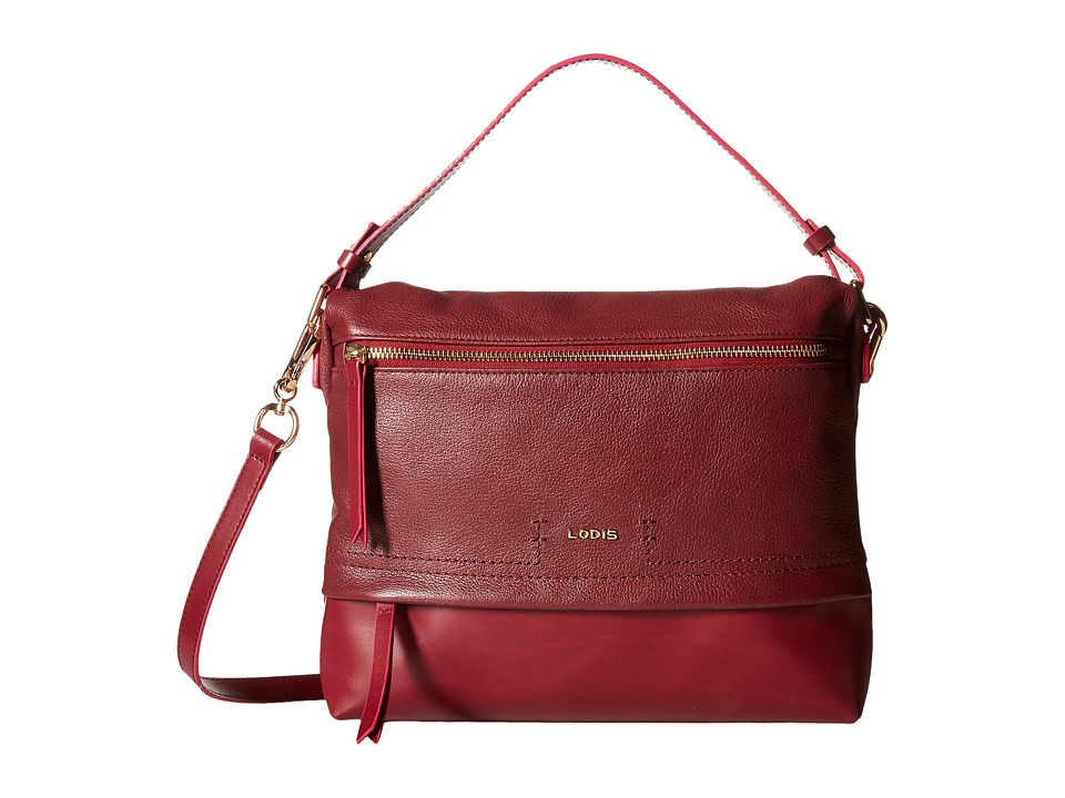 Lodis Accessories - Kate Serina Hobo (Burgundy) Hobo Handbags