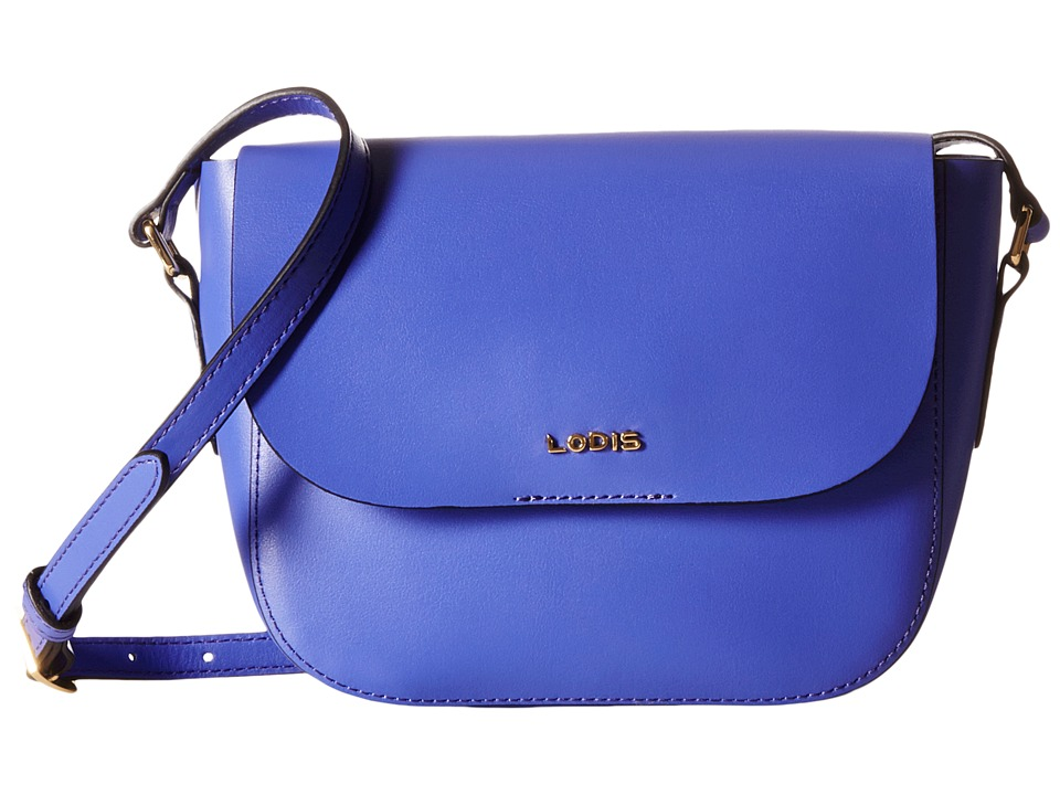 Lodis Accessories - Blair Bailey Crossbody (Violet/Cobalt) Cross Body Handbags
