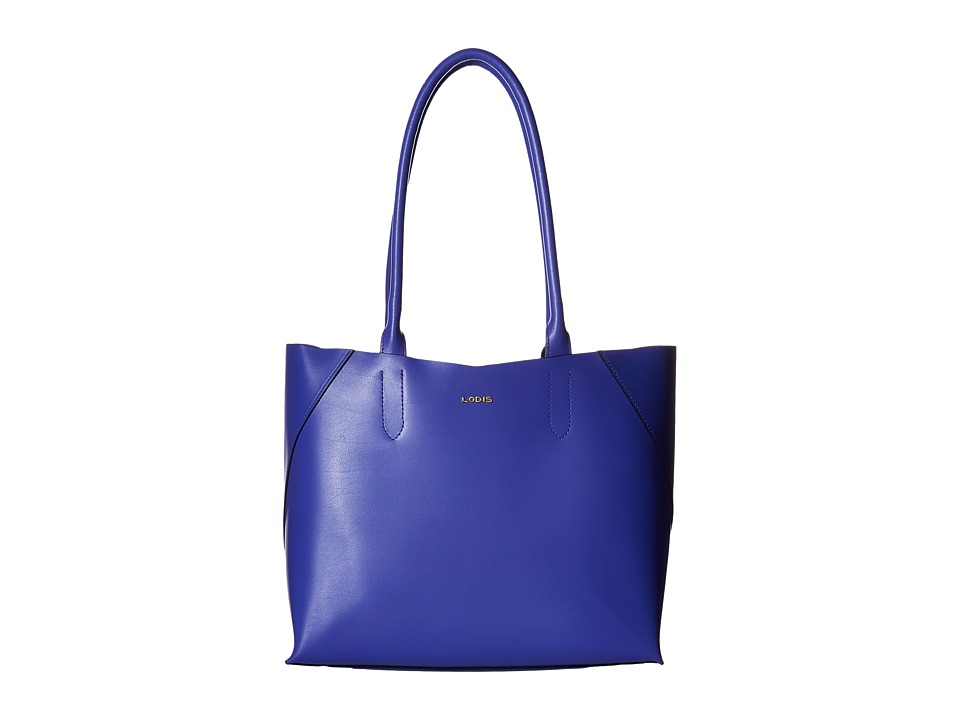 Lodis Accessories - Blair Cynthia Tote (Violet/Cobalt) Tote Handbags