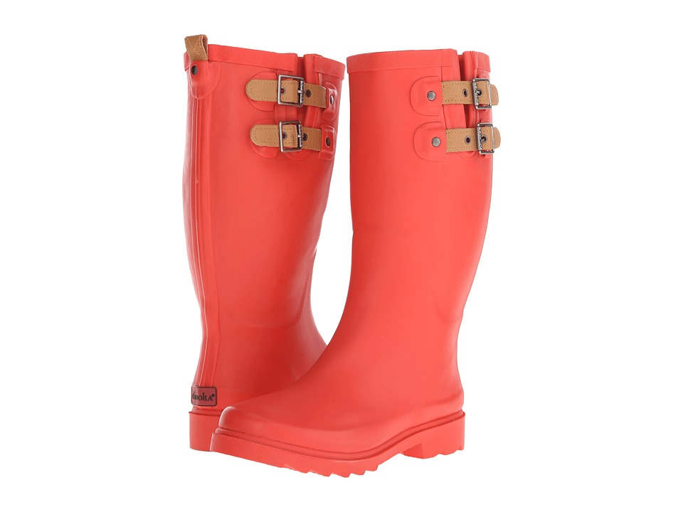 Chooka Top Solid Rain Boot (Tulip) Women