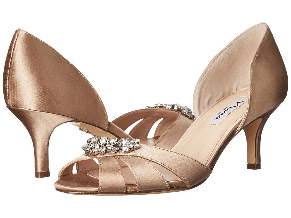Nina - Cylinda (Champagne) High Heels