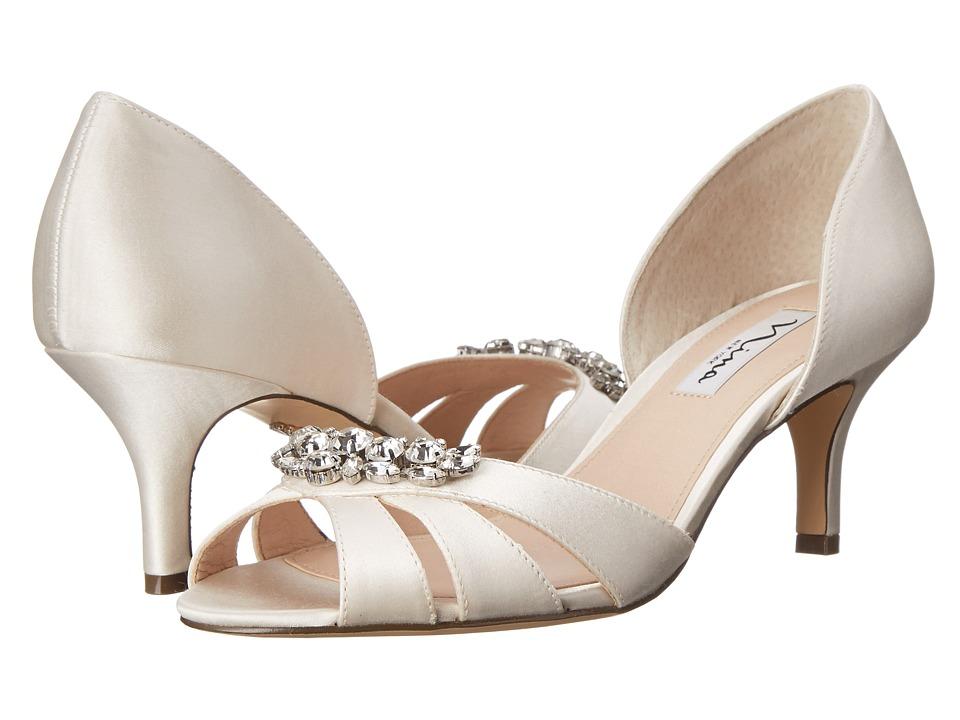 Nina - Cylinda (Ivory) High Heels