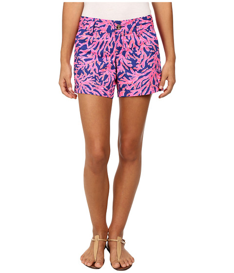 Lilly Pulitzer - Callahan Shorts (Tropical Pink Did You Catch That) Women's Shorts