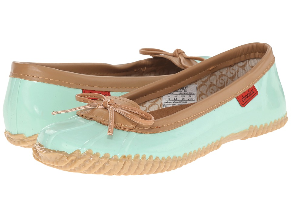 Chooka - Duck Skimmer (Mint) Women's Flat Shoes
