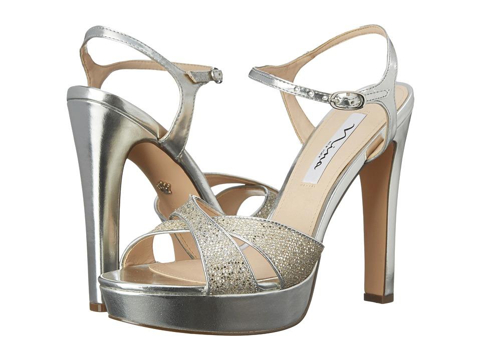 Nina - Maria (Soft Platino/Silverfish) High Heels