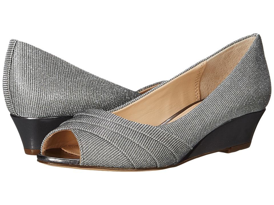 Nina - Rowan (Gunmetal) Women's Wedge Shoes