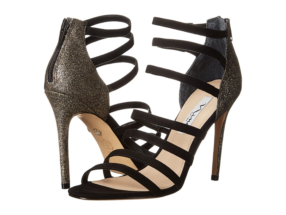 Nina - Chelise (Black/Golden) High Heels