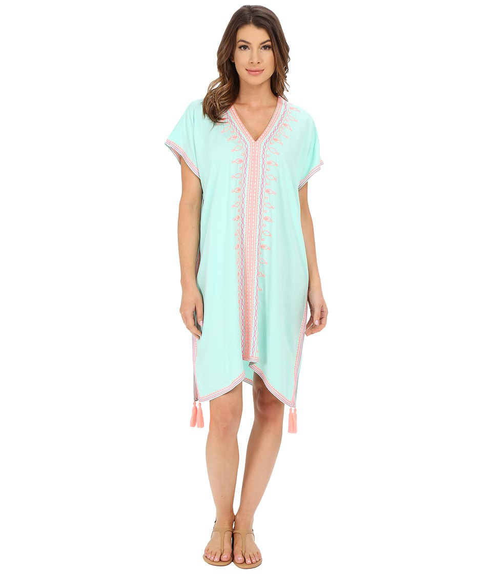 Lilly Pulitzer - Sydney Caftan Dress (Poolside Blue) Women's Dress