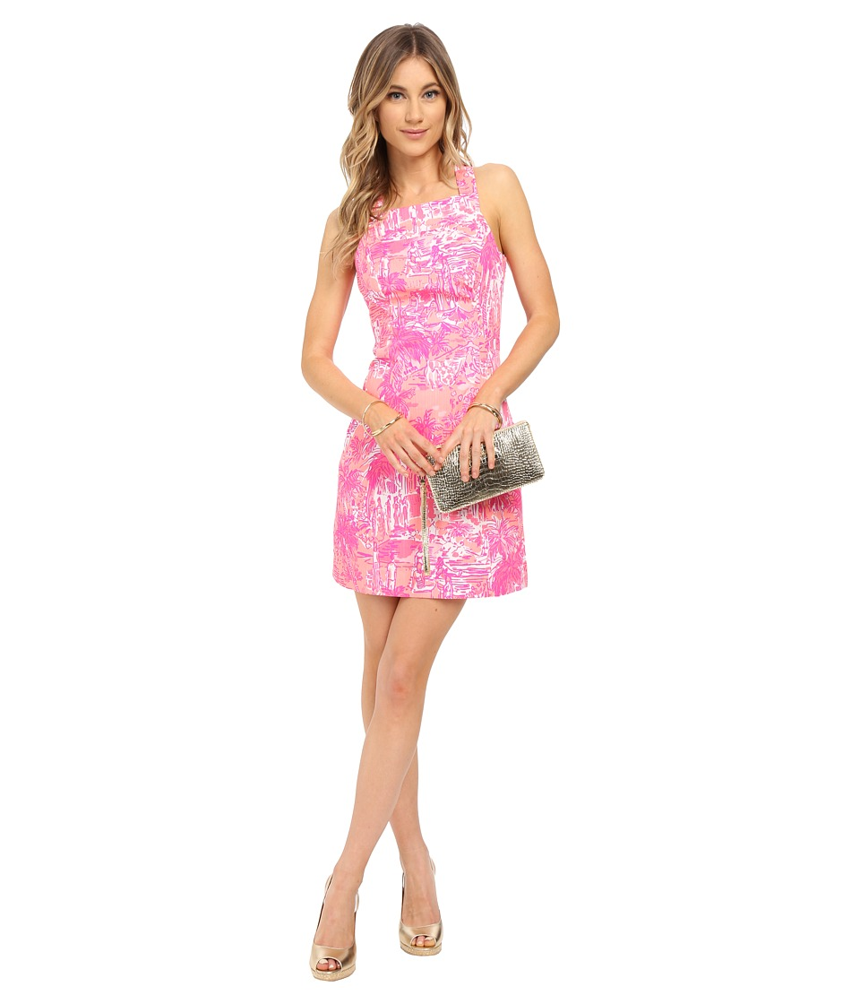 Lilly Pulitzer - Simone Shift Dress (Cheeky Melon Rule Breakers) Women's Dress