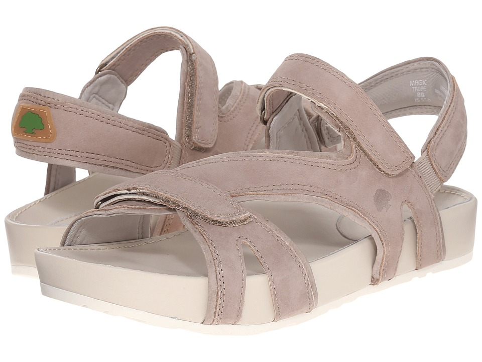 Earth - Magic Kalso (Taupe Soft Buck) Women's Sandals