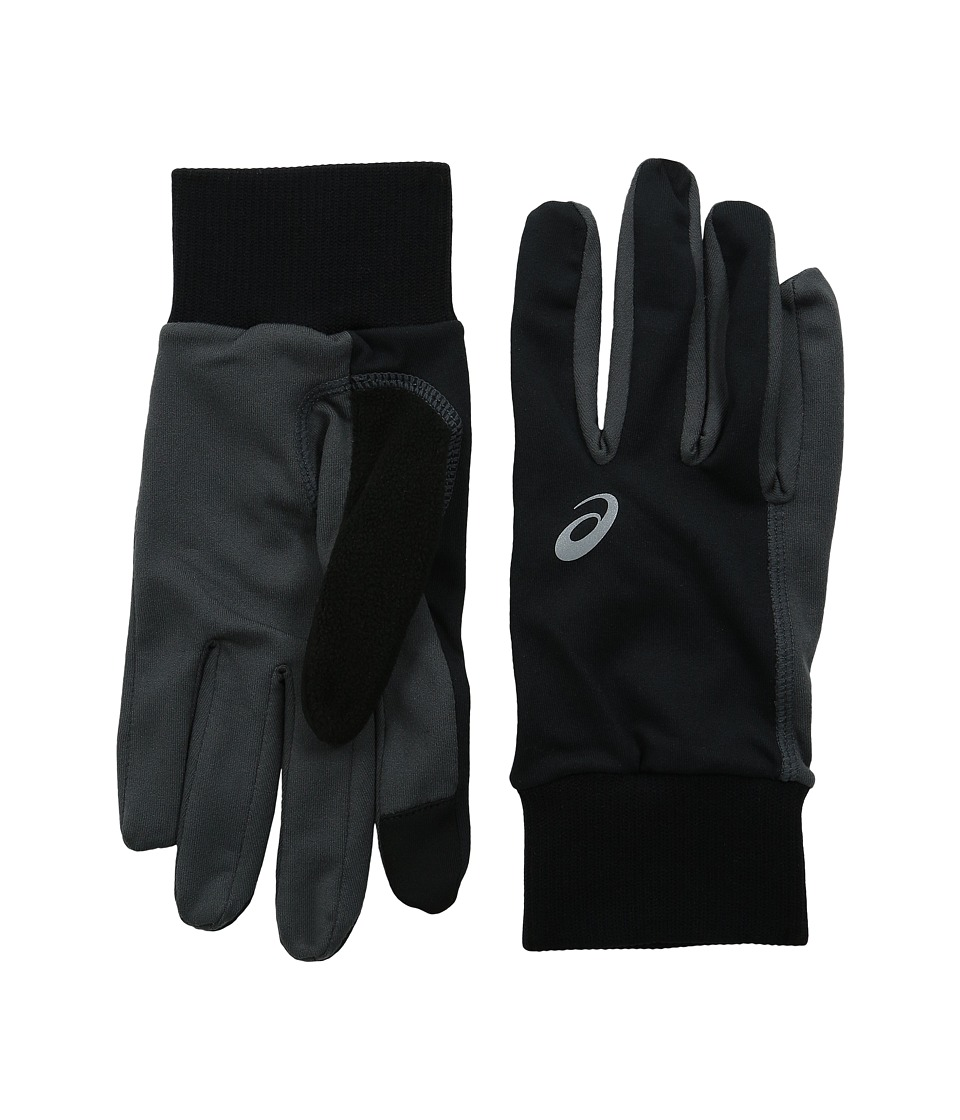 ASICS - Thermal Run Glove (Black/Dark Grey) Extreme Cold Weather Gloves