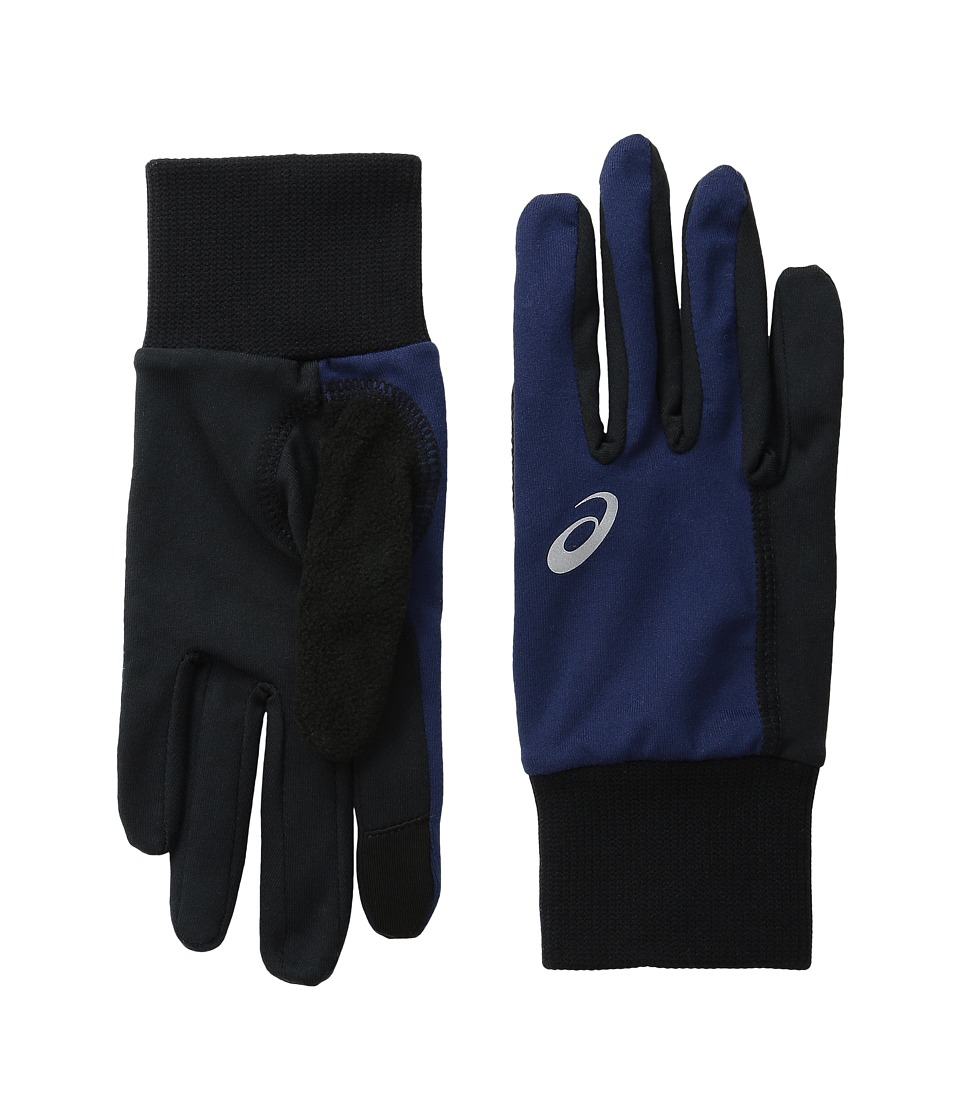ASICS - Thermal Run Glove (Indigo Blue/Black) Extreme Cold Weather Gloves