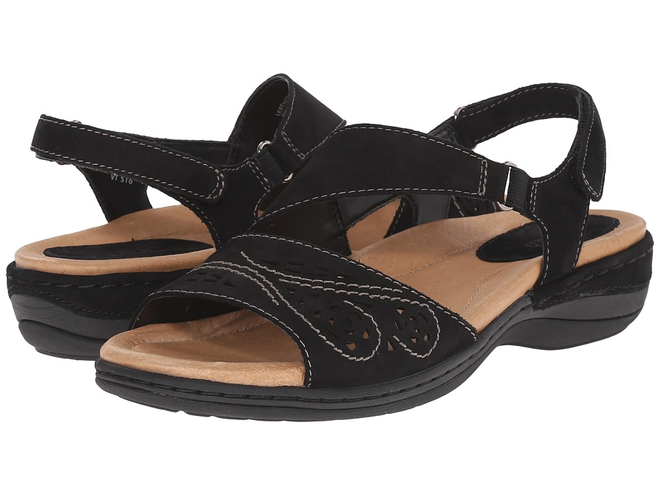 Earth - Arbor (Black Soft Buck) Women's Sandals