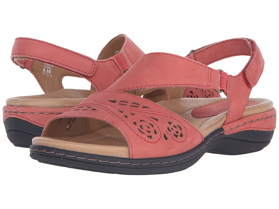 Earth - Arbor (Coral Soft Buck) Women's Sandals