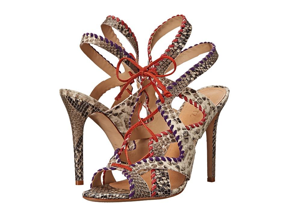 Schutz - Lenna (Pearl/Violeta/Red/Nectarina) High Heels