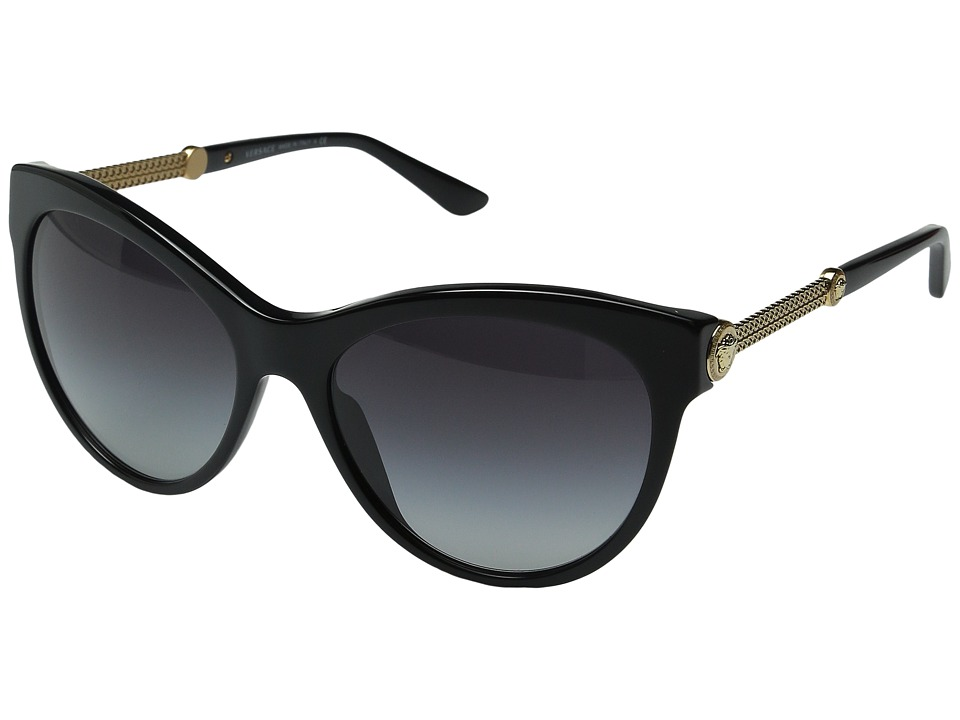 Versace - VE4292 (Black/Grey Gradient) Fashion Sunglasses