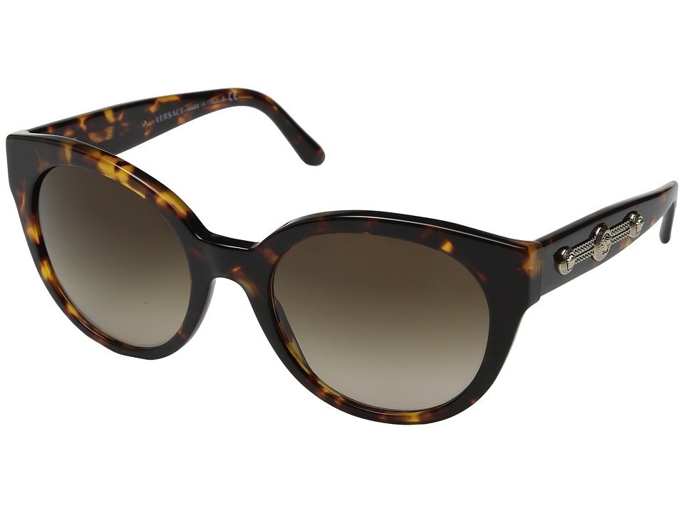 Versace - VE4294 (Havana/Brown Gradient) Fashion Sunglasses