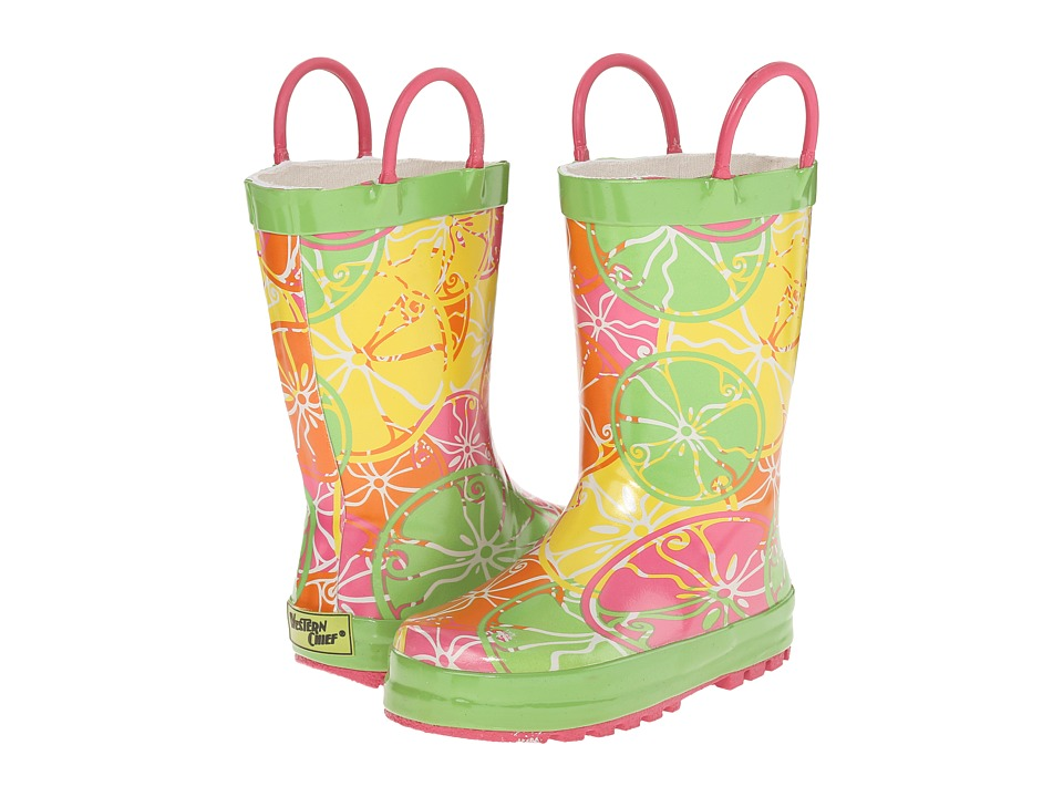 Western Chief Kids - Citrus City (Toddler/Little Kid) (Green) Girls Shoes