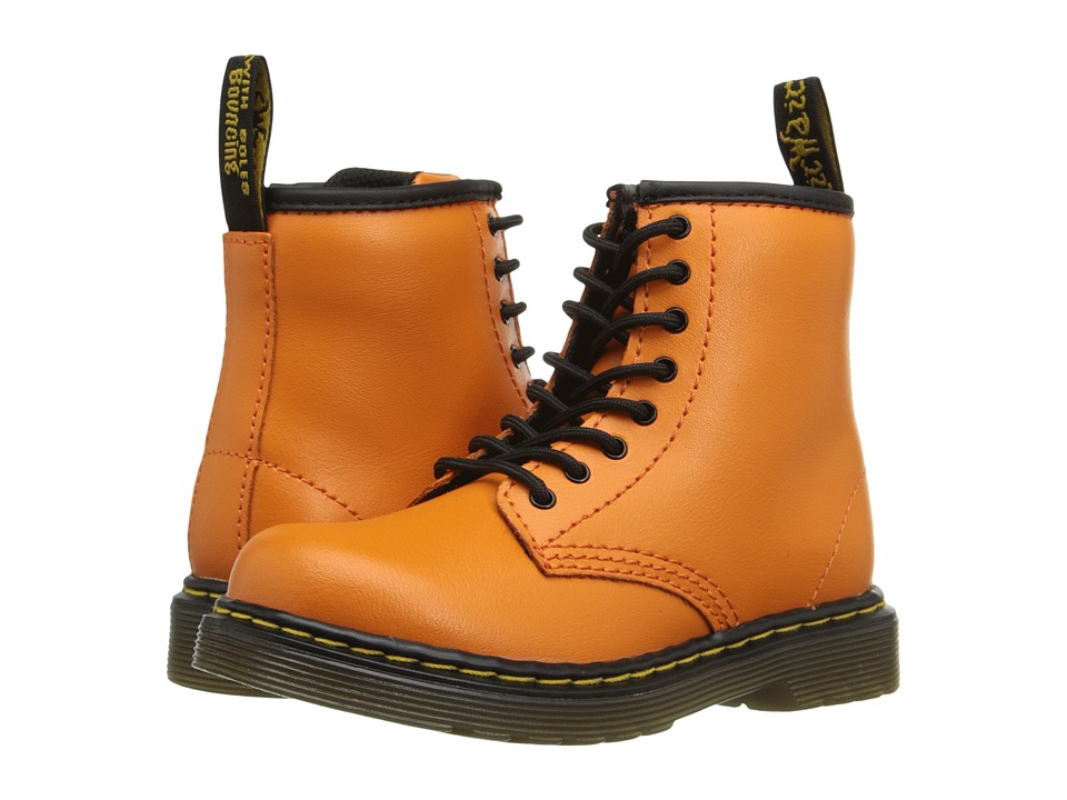 Dr. Martens Kid's Collection - Brooklee (Toddler) (Pumpkin Orange) Kids Shoes