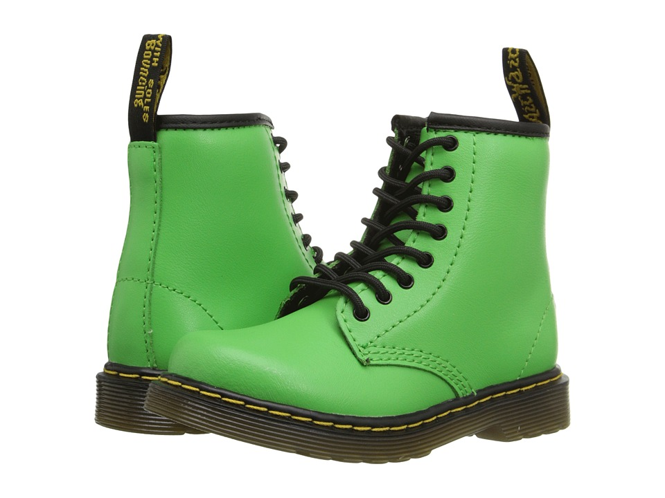 Dr. Martens Kid's Collection - Brooklee (Toddler) (Slime Green) Kids Shoes