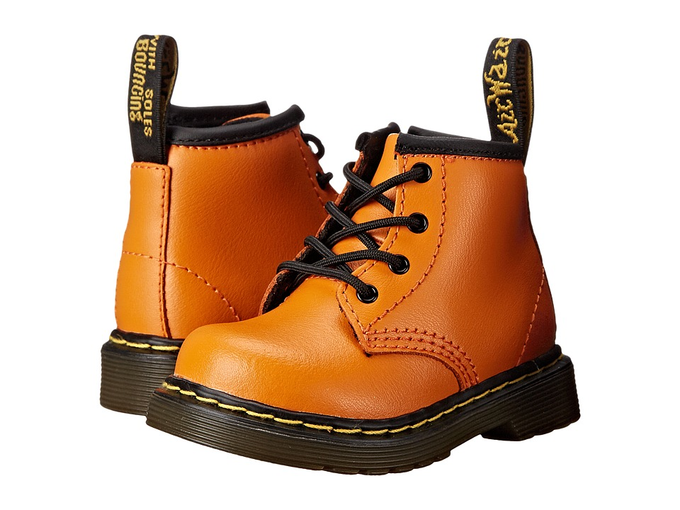 Dr. Martens Kid's Collection - Brooklee B (Toddler) (Pumpkin Orange) Kids Shoes
