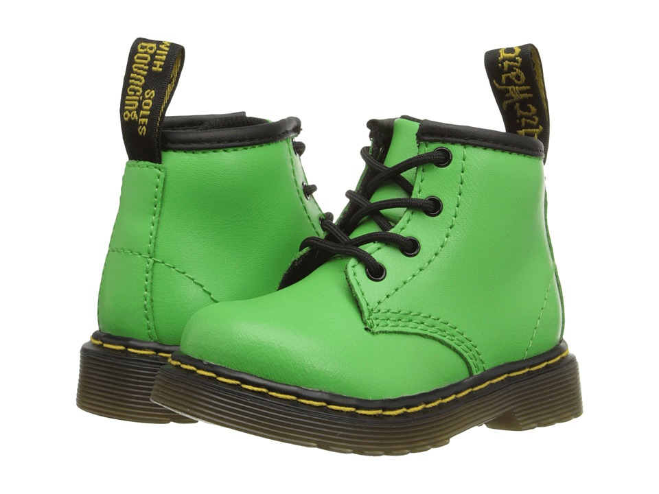 Dr. Martens Kid's Collection - Brooklee B (Toddler) (Slime Green) Kids Shoes