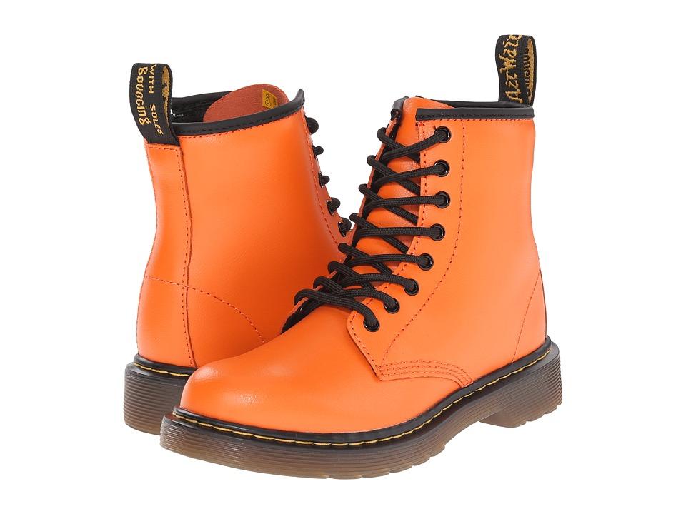 Dr. Martens Kid's Collection - Delaney (Little Kid/Big Kid) (Pumpkin Orange) Kids Shoes
